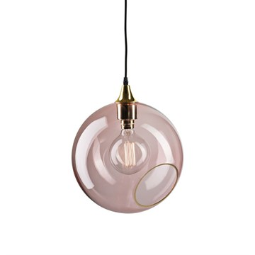 Ballroom lampe XL rose - Design By Us