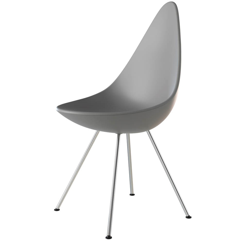 Arne Jacobsen Dråben Nine Grey - krom