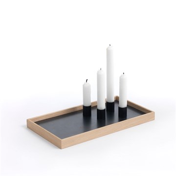 the_oak_men Candle Tray i natur eg