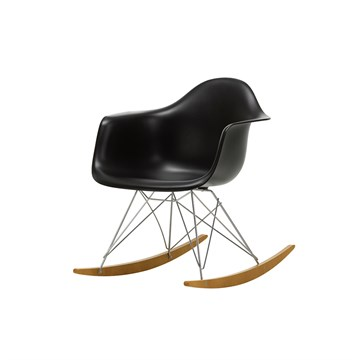 Eames RAR gyngestol - Deep Black