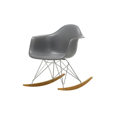 Eames RAR gyngestol - Granite Grey