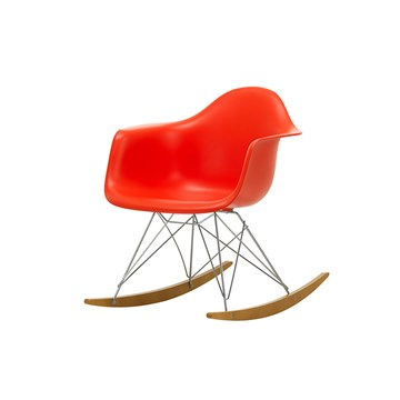 Eames RAR gyngestol - Poppy Red