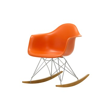 Eames RAR gyngestol - Rusty Orange