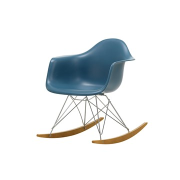 Eames RAR gyngestol - Sea Blue